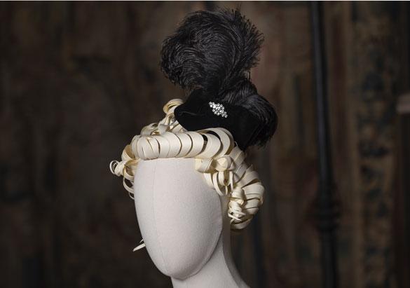 Edith Vanderbilt's engagement headpiece