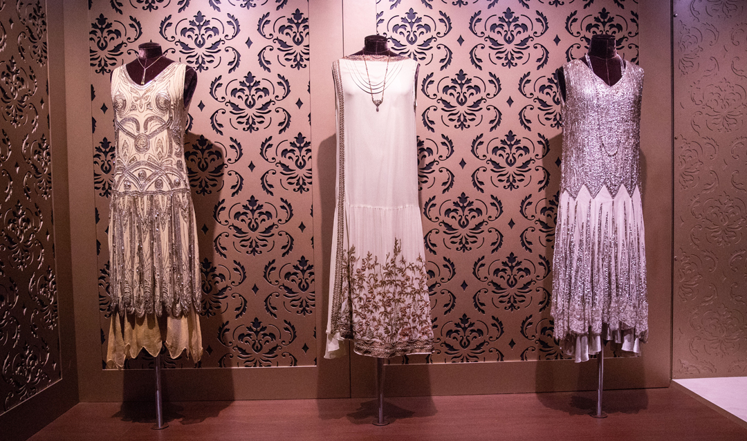 Costumes from Downton Abbey on display